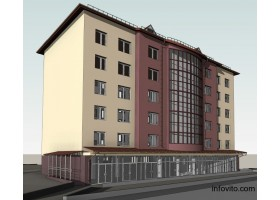 Строительства жилья  в центре Лунинца