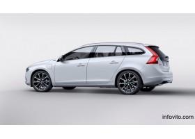 Volvo V60 2016 г. белая новая