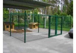 Сборно-разборный загон из металлических решеток для собак и животных