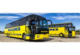 Большой автобус Минск - Варшава от ECOLINES