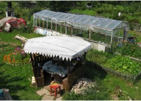 Земельный участок в садовом товариществе.