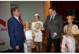 В Первомайской р-не организации РОО «Белая Русь» вручили членский билет с № 6000