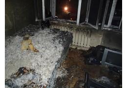При пожаре в многоэтажке на ул. Кольцова спасены два человека