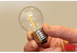 Инновация для дома: в продажу поступили филаментные светодиодные лампы