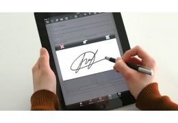 В Беларуси вводится цифровая рукописная подпись