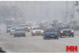 Снегопад 1 марта вызвал рост аварийности на дорогах и повлиял на работу