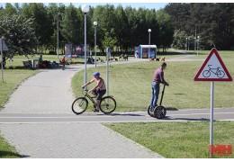 В Минске изучат возможность строительства велодорожек из бесшовной плитки