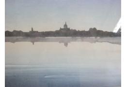 В Национальной библиотеке Беларуси открылась выставка акварелей Павловца