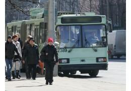 Движение троллейбусов в центре возобновлено