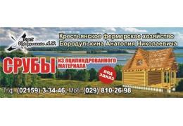 Срубы из оцилиндрованной древесины, Витебская область