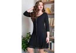 Платье женское полуприлегающего силуэта, для повседневной носки