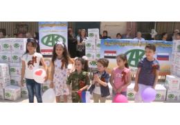 В сирийских школах начали учить русский язык