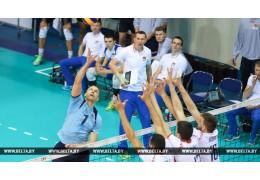 Мужская сборная Беларуси по волейболу проиграла Хорватии во втором туре Евролиги