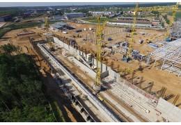 Директор ОАО «Белгипс»: степень готовности нового завода в Гатово — более 90 %