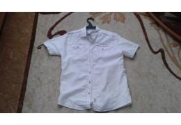Рубашка белая (летняя) с короткими рукавами