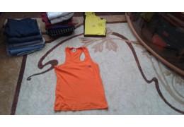 """Майка спортивная, оранжевая """"Adidas"""""""