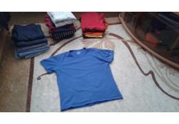 Майка синяя, для повседневного ношения в сезон