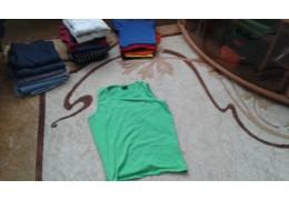 Майка светло - зеленая, для повседневного ношения в сезон