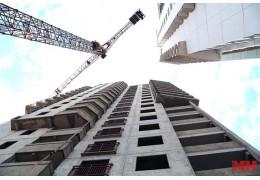 За полгода в столице возвели 270 тыс. кв. м жилья