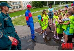 Акцию «Минск безопасный» провели для детей в Ленинском районе