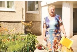 Призер конкурса «Ветеранский цветник»: «Всегда хотела жить в красивом  доме»