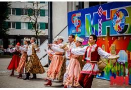 Праздничный концерт собрал минчан на бульваре Мулявина