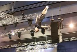 Сборная Беларуси по прыжкам на батуте готовится к II Европейским играм