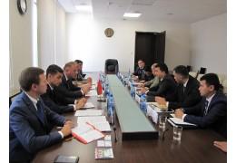 Зам. председателя Мингорисполкома Крепак встретился с делегацией из Узбекистана