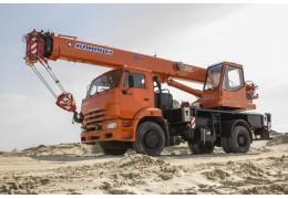 Автокран грузовой специальный КС-35719-1-02 в аренду