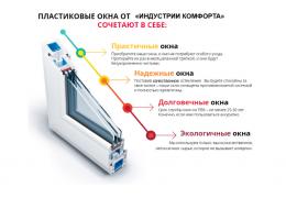 """Качественные окна для населения  и организаций от компании """"Индустрия Комфорта"""""""