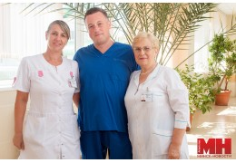 Мечтали о медицине с детства и не ошиблись: история семьи врачей Новиченко