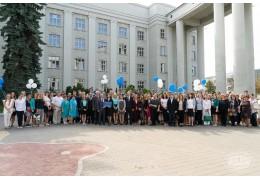 В Минске появилась скульптурная композиция «Преемственность белорусской науки»