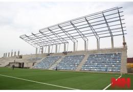 Как продвигается реконструкция стадиона «Динамо-Юни»