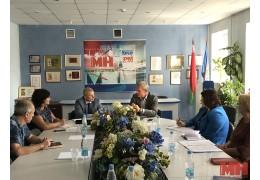 Сергей Шендик встретился с коллективом УП «Агентство «Минск-Новости»