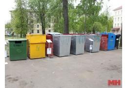 С начала года заменено более 3,1 тыс. контейнеров для сбора мусора