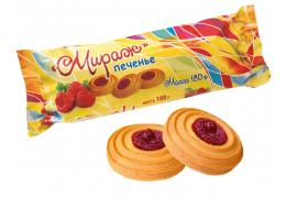 """Печенье """"Мираж"""" песочно-отсадное сдобное"""