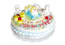 """Детский торт № 9 (по рецепту """"Торт """"Любимый"""")"""
