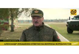 Лукашенко о дедовщине, «сухом законе» и о том, как воспитывал своих детей