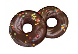 Пирожное «Кольцо заварное» с посыпками декоративными