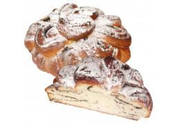 Пирог постный с маковой начинкой в/с