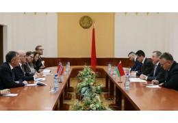 Макей встретился с госсекретарем МИД Норвегии Аудуном Халворсеном