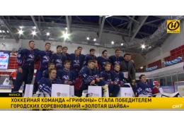 Команда «Грифоны» выиграла городские соревнования «Золотая шайба»