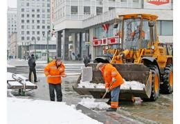 Более 10 тыс. куб. м снега вывезли с начала зимы с улиц города