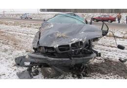 Под Борисовом легковушка съехала в кювет и перевернулась: пассажир скончался