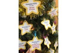 Благотворительная акция «Елка желаний»: каждый может сделать новогодний подарок