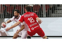 Белорусские гандболисты проиграли Катару в повторном товарищеском матче