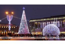 Главная новогодняя ель Беларуси вошла в топ-5 самых высоких в СНГ
