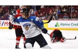 Хоккеисты Финляндии и США сыграют в финале молодежного ЧМ