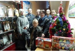 Помощь детям к новому году от Барановичского ОВДТ