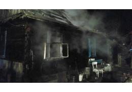 Пенсионер погиб при пожаре в Каменецком районе